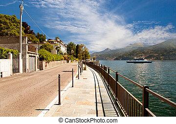 호수 como, 이탈리아