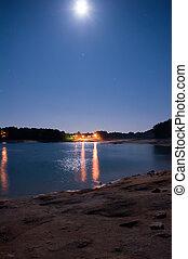 호수, jocassee, 해돋이