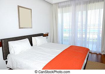호텔, 아파트, peloponnes, 사치, 그리스