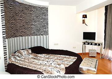 호텔, halkidiki, 아파트, 사치, 그리스