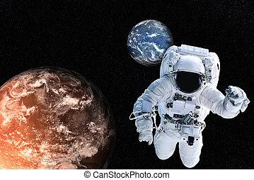 화성, 우주 비행사, 행성, 지구
