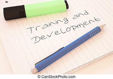 훈련, 와..., 발달