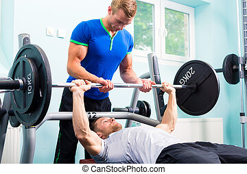 훈련, 체조, 사람, 바벨, 적당, 스포츠