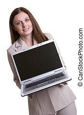 휴대용 퍼스널 컴퓨터, 여자