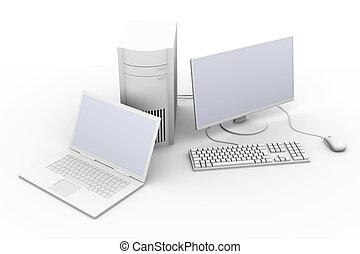 휴대용 퍼스널 컴퓨터, 와..., 2 바탕 화면pc