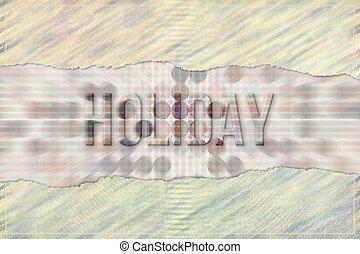 휴일, 개념의, 낱말, 와, 떼어내다, 부분적으로 덮음, 모양, 패턴, 가령...와 같은, 배경., 벽지, 도구, 알파벳, &, text.