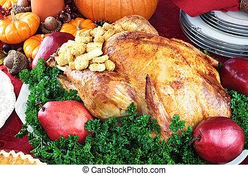 휴일, 저녁 식사, 칠면조, 3585