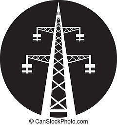 힘, 전송 탑