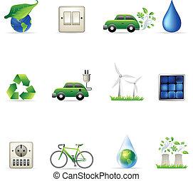 -, środowisko, ikony, sieć