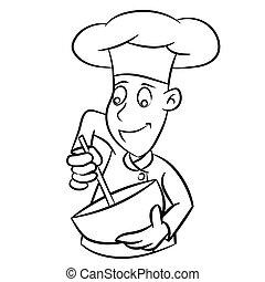 - , αρχιμάγειρας , μικροβιοφορέας , μετοχή του draw , γραμμή , γελοιογραφία