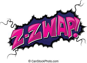 - , κόμικς , έκφραση , zzwap