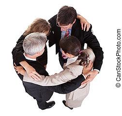 - , ομαδική εργασία , businesspeople , αμπάρι ανάμιξη
