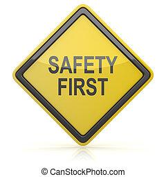 - , σήμα , ασφάλεια , δρόμοs , πρώτα
