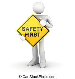 - , σήμα , ασφάλεια 1 , δρόμοs , άντραs