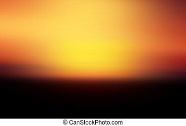 - , χρυσαφένιος , μαύρο φόντο , ηλιοβασίλεμα , αφρική , κόκκινο , ορίζοντας , άπειρος , λαμπρότης
