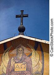 -, すべて, 国, 教会, gethsemane