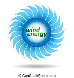 -, エネルギー, 概念, エコロジー, 風
