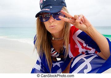 -, オーストラリア, よい, から, 冷えること, オーストラリア 文化, 愛, vibes