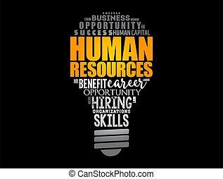-, 単語, 資源, ライト, 時間, 人間, 電球, 雲, コラージュ