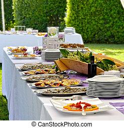 -, 宴会, 結婚式
