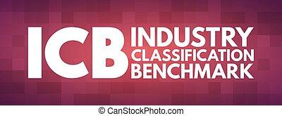 -, 産業, 頭字語, icb, 分類, 基準