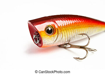 -, 發出砰的響聲的人, 釣魚誘餌