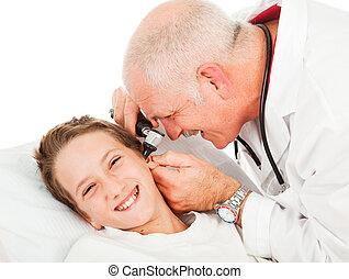 -, 試験, pediatric, ticklish