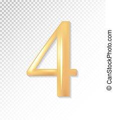-, 金, eps, ベクトル, 3d, 4, コレクション, mesh., マット, 4., 10, 使うこと, 数