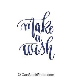 -, 願い, 作りなさい, テキスト, 碑文, 休日, 手, 冬, レタリング