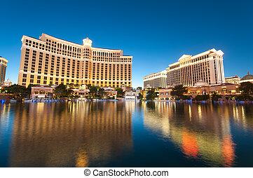 -, 2010, 11, ocaso, casino, durante, las, sep, hotel, vegas...