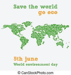 -, 6月, 環境, 世界, 日, 第5