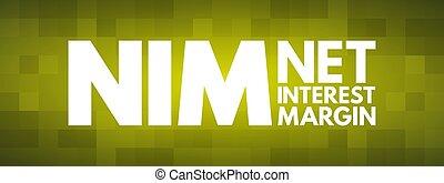 -, acronyme, marge, concept, nim, filet, intérêt