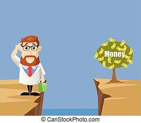-, argent, portée, comment, docteur, fin, pensée, plante