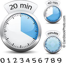 -, avisador, uno, vector, cada, cambio, fácil, tiempo,...