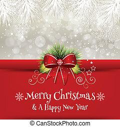 -, bakgrund, jul, illustration