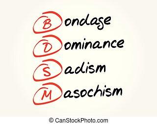 -, bdsm, 背景, 頭字語, 概念