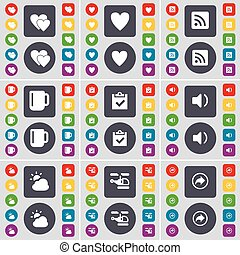 Collagen Skin, Heart And Person Info Line Icons Set. Customer Satisfaction,  Ranking And Clapping Hands Signs. Vision Test, Hold Heart Symbols. Skin  Care, Love Chat. People Set. Vector Lizenzfrei Nutzbare Vektorgrafiken, Clip