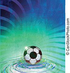 Vector Football Poster Fussball Uni Liga Tasse Fussball Beste