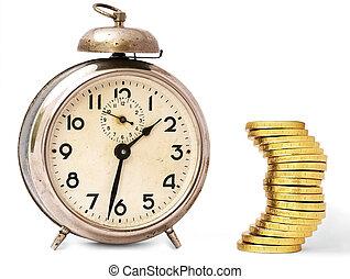 -, c, temps, argent, vendange