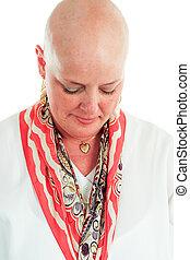-, cancer, perte, survivant, cheveux
