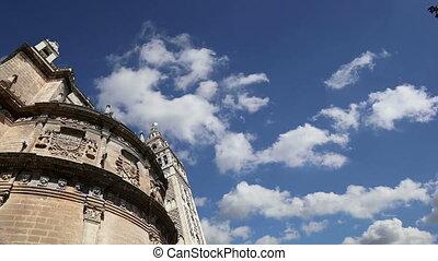 --, cathédrale, espagne, séville