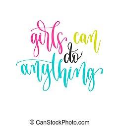 -, citare, positivo, testo, mano, qualsiasi cosa, disegno, ispirazione, iscrizione, motivazione, lattina, ragazze