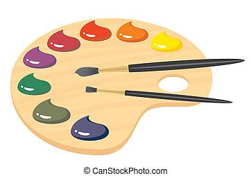 palette illustrations and clip art 50 464 palette royalty free rh canstockphoto com artist paint palette clipart paint palette clip art black and white