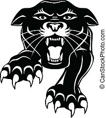 panther illustrations and clip art 5 036 panther royalty free rh canstockphoto com panther clip art free panther clip art free
