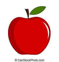 apple stock illustrations 97 715 apple clip art images and royalty rh canstockphoto com clipart apple in grad cap clip art applesauce