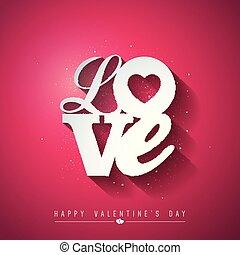 Tarjeta De San Valentín O Invitación Para La Fiesta