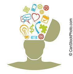 brainstorm illustrations and clip art 45 683 brainstorm royalty rh canstockphoto com  brainstorming clipart images