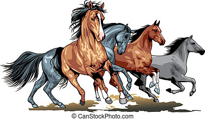 horses illustrations and clip art 66 405 horses royalty free rh canstockphoto com horse head clipart clipart of horses