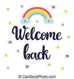 herzlich willkommen zurück im büro