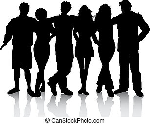 family friends illustrations and clipart 23 645 family friends rh canstockphoto ca family & friends clipart family and friends clipart black and white